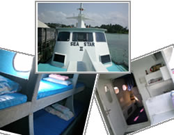 Bintan 1 night on boat fishing package