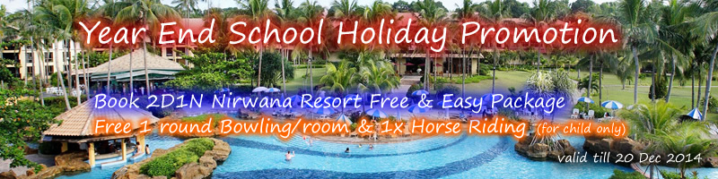 Nirwana Resort Hotel Year End School Holiday Promo
